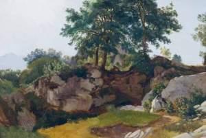 I bjergene, Sicilien, Fritz Petzholdt